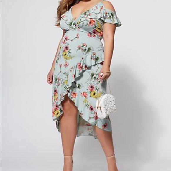 5420d9a1a2bf Fashion to Figure Dresses | Ruffle Maxi Dress | Poshmark